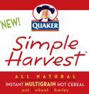 Quaker Simple Harver Oatmeal – Start Sampling