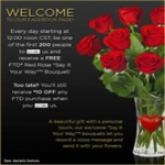 Free Say It Your Way Flower Bouquet From Ftd