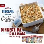 Philadelphia Cooking Creme Dinnertime Dilemma House Party