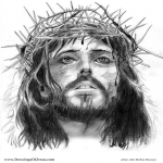 Free 5×7 Portrait Of Jesus Christ