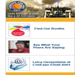 Free Shirt–free Conexpo 2011 T-shirt From Leica Geosystems