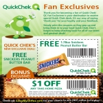 Free Snickers Peanut Butter Bar At Quickchek