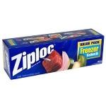 Free 15-count Box Of Gallon Size Ziploc Freezer Bags