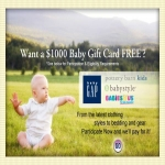 Free Baby Store Gift Card