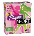 Platex Sport Tampons – Walmart Sample