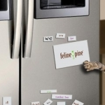 $3 Off Coupon For Feline Pine Cat Litter And Free Word Magnets