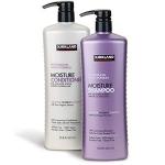 Sample Of Kirkland Signature New Moisture Shampoo And Conditioner.