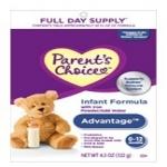 Advantage Infant Formula Sample