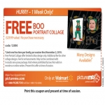 Get A Free Portrait Collage At Pictureme Studios In Walmart