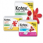 Kotex Tampons and Pads