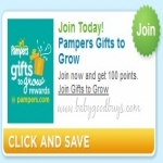 Free 100 Pampers Gifts To Grow Points