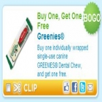 Greenies Dental Chew Bogo Coupon