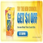 $1 Off Wheat Thins Coupons