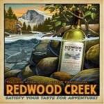 Vintage Redwood Creek Poster