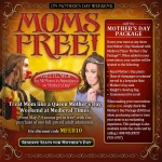 Free Admission For Mom At Medieval Times
