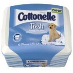 Free Cottonelle Fresh Flushable Moist Wipes