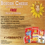 Possibly Get A Free Borden Cheese Singles Sensations This Is For