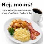 Free Mother's Day Breakfast At Ikea