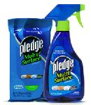 Pledge Multi Surface Wipes – Walmart Sample