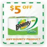 $5 Off Any Bounty Product Coupon