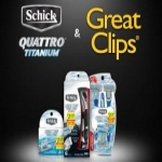 Free Schick Quattro Titanium At Great Clips