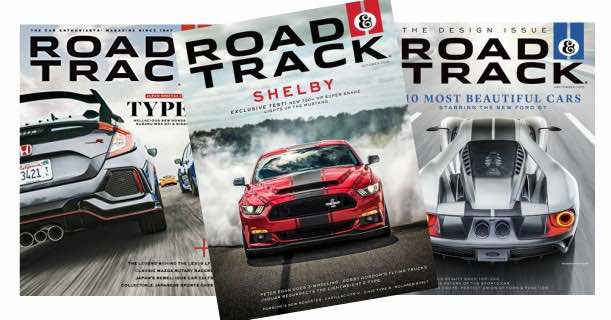 Subscription To Road  Track