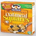 Free Sample Of Quaker Oatmeal Squares