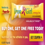 Buy One Get One Free Iron Girl Energy Bar From Powerbar