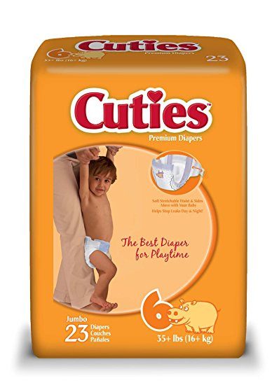 Cuties Diapers  Pack