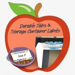 Free Sampe Of Post-it Durable Tabs And Storage Container Labels