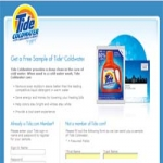 Free Sample Of Tide Coldwater