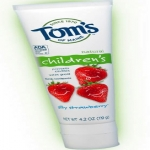 Free Toms Of Maine Silly Strawberry Toothpaste Sample