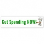 Free Bumper Sticker – Cut Spending Now