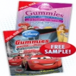Free Sample Of Disney Character Vitamin Gummies