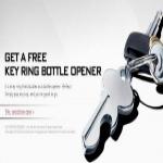 Free L&m Key Ring Bottle Opener