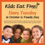 Kids Eat Free Every Tuesday In October At Uno's