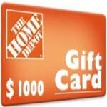 Home depot $1000 gift card survey