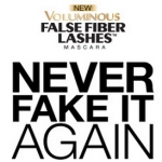 Voluminous False Fiber Lashes dont Fake It Again Instant Win Game