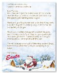 AAA Letter from Santa Template
