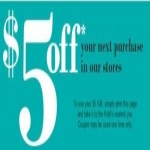 Free $5 Off At Kohl's When You Sign Up For Sale Alerts