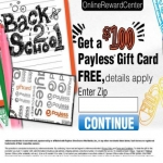 Payless Gift Card for Back to School
