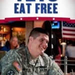 Free Food For Veterans: Applebee's Signature Entree Friday, Nov. 11th