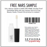 Free Sample Of Nars(r) Eyeshadow Base