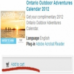 Free 2012 Ontario Outdoor Adventures Calendar