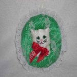 Fancy Feast Christmas Ornament