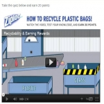 Ziploc Recyclebank Points