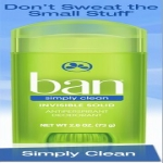 Enter To Win 1 Of 250 Full Size Ban simply Clean Deodorants.