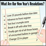 Cash Giveaway – What's Your New Year's Resolution?