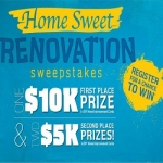 Home Sweet Renovation Sweepstakes