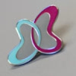 Pair Up Lapel Pin From Kidneyfund.org